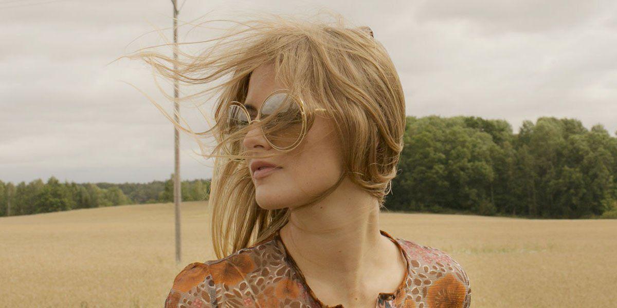 22d85357d6 Gafas de sol redondas doradas Carlina de Chloé - Revista Tendencias