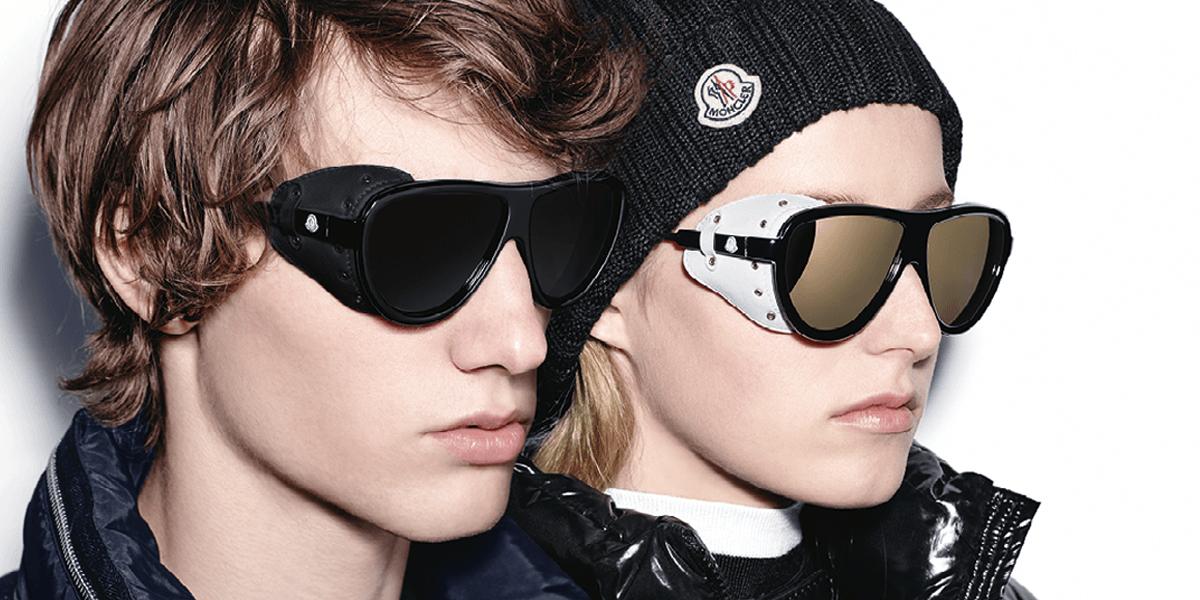 Gafas deportivas Moncler, ideales para la montaña